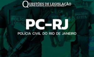 PC-RJ - POLÍCIA CIVIL DO RIO DE JANEIRO
